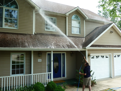 Pressure Washing House Cleaning MN | Roof to Deck