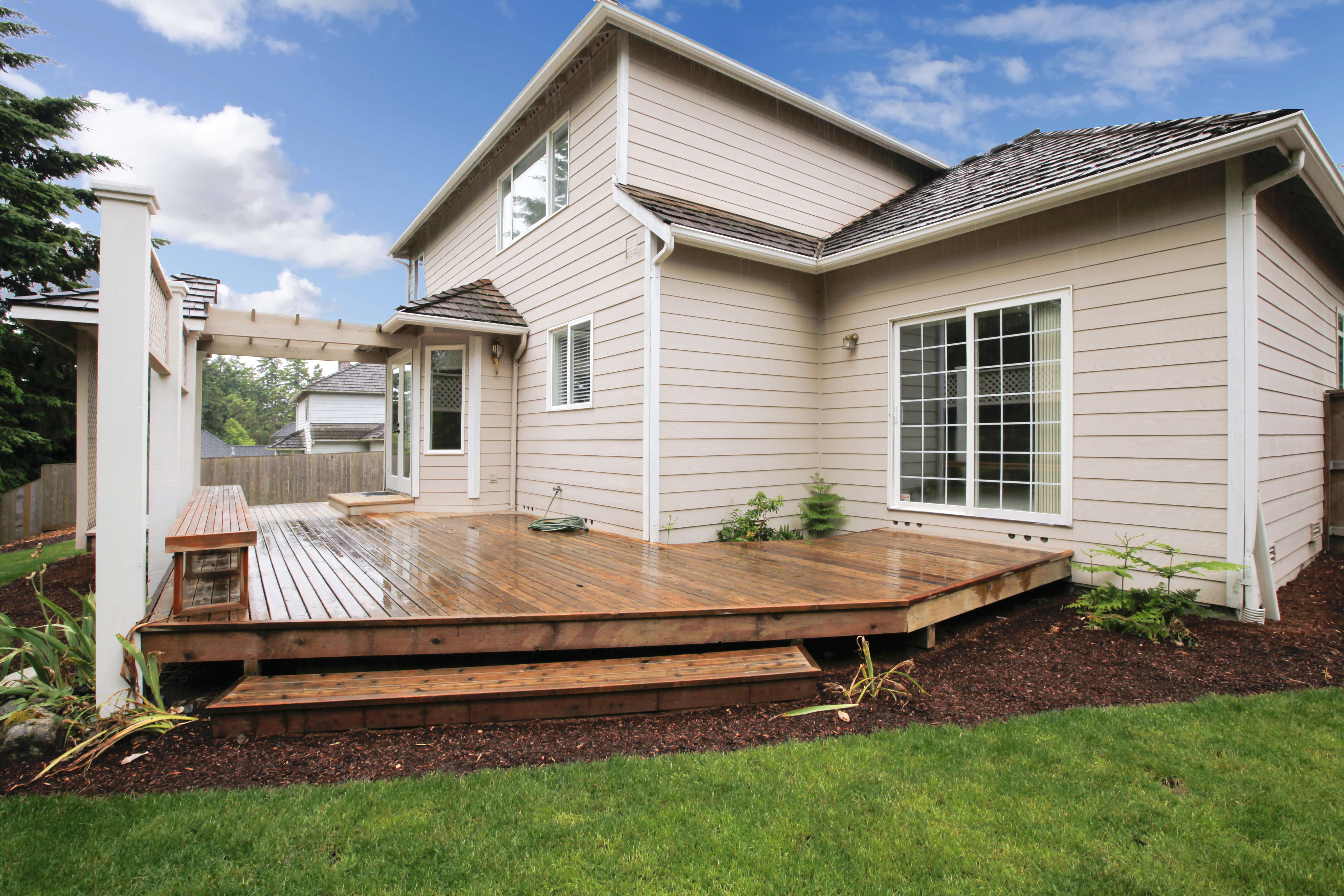 beautify your home for spring roof to deck